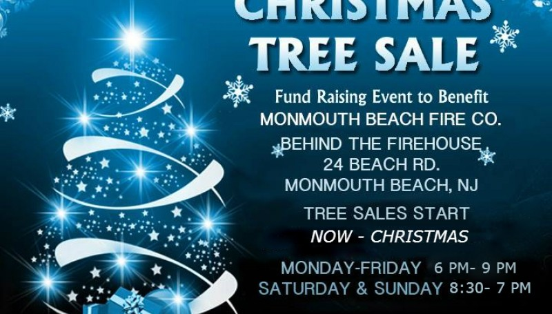 Monmouth Beach Annual Christmas Tree Sales